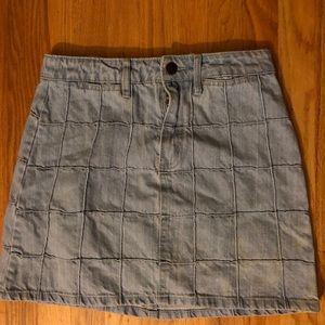 Used jean skirt